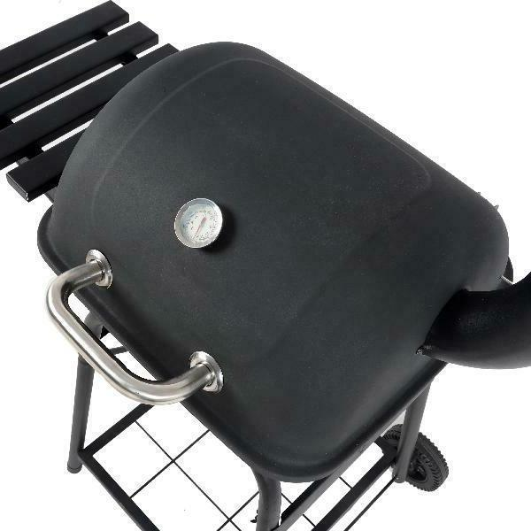 Outdoor BBQ Grill Pit Cooker Smoker