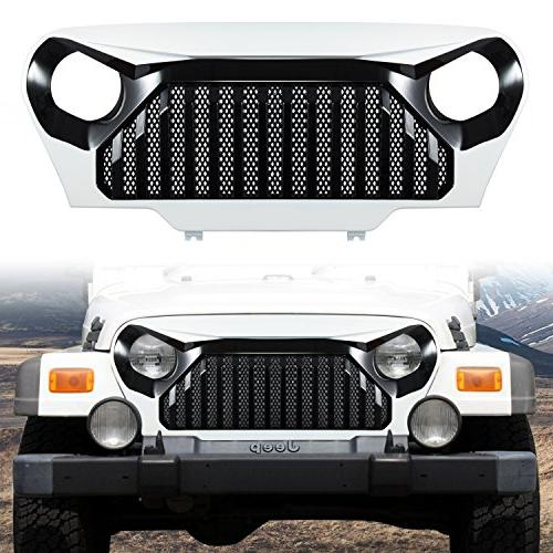 painted gladiator vader front grill grid grille