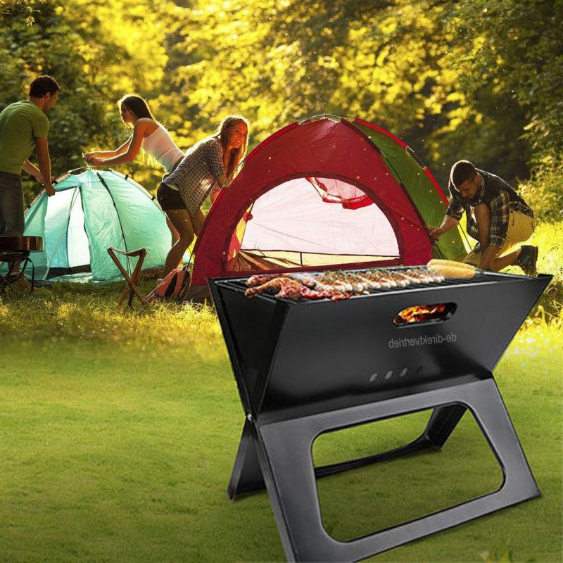 portable barbecue bbq grill compact charcoal bars
