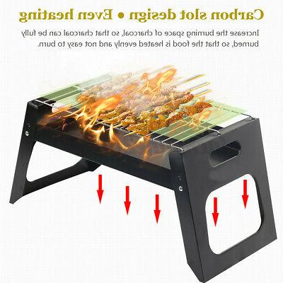 Portable Compact Barbecue BBQ Cooker Bars