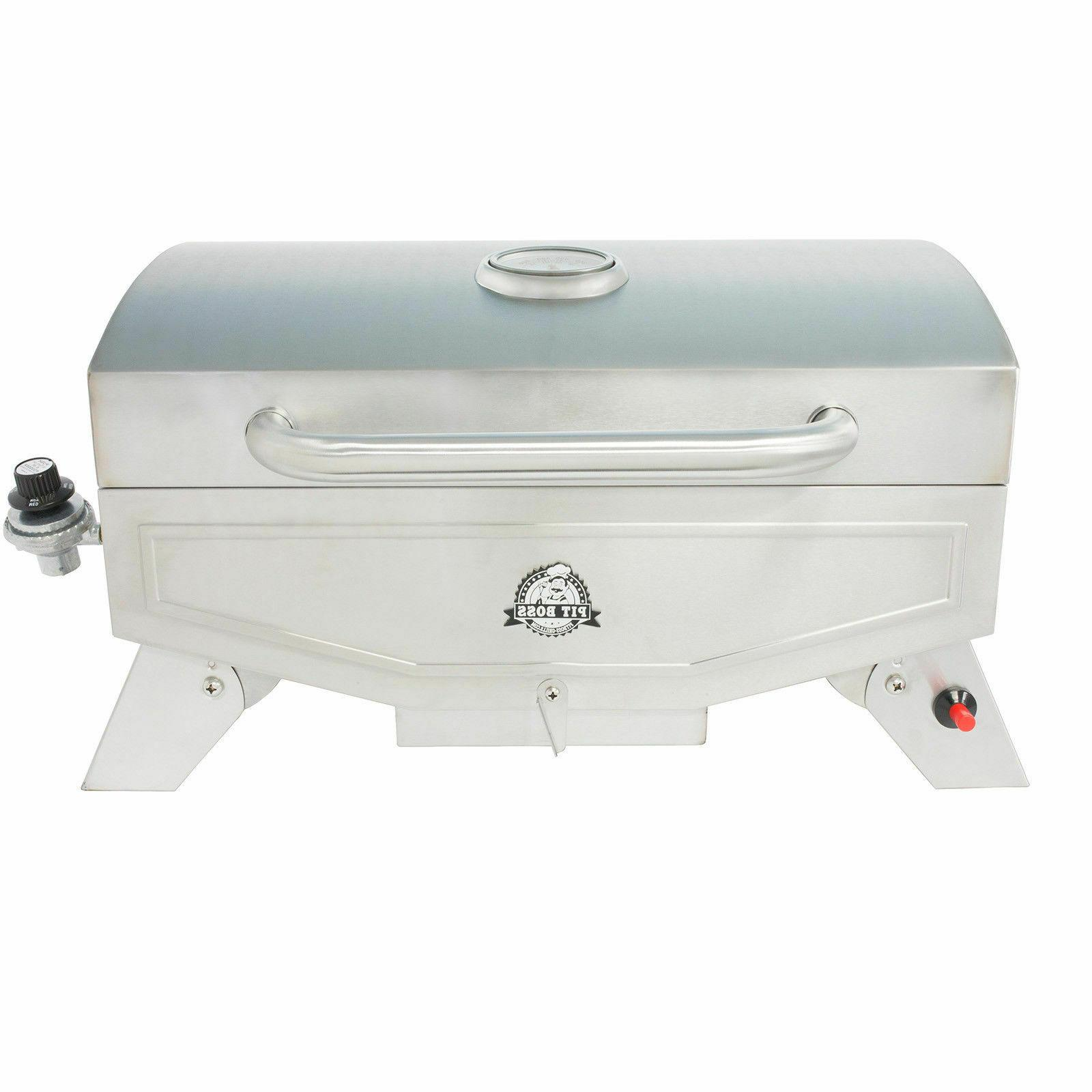 Portable Propane Gas Stainless RV Outdoor Backyard