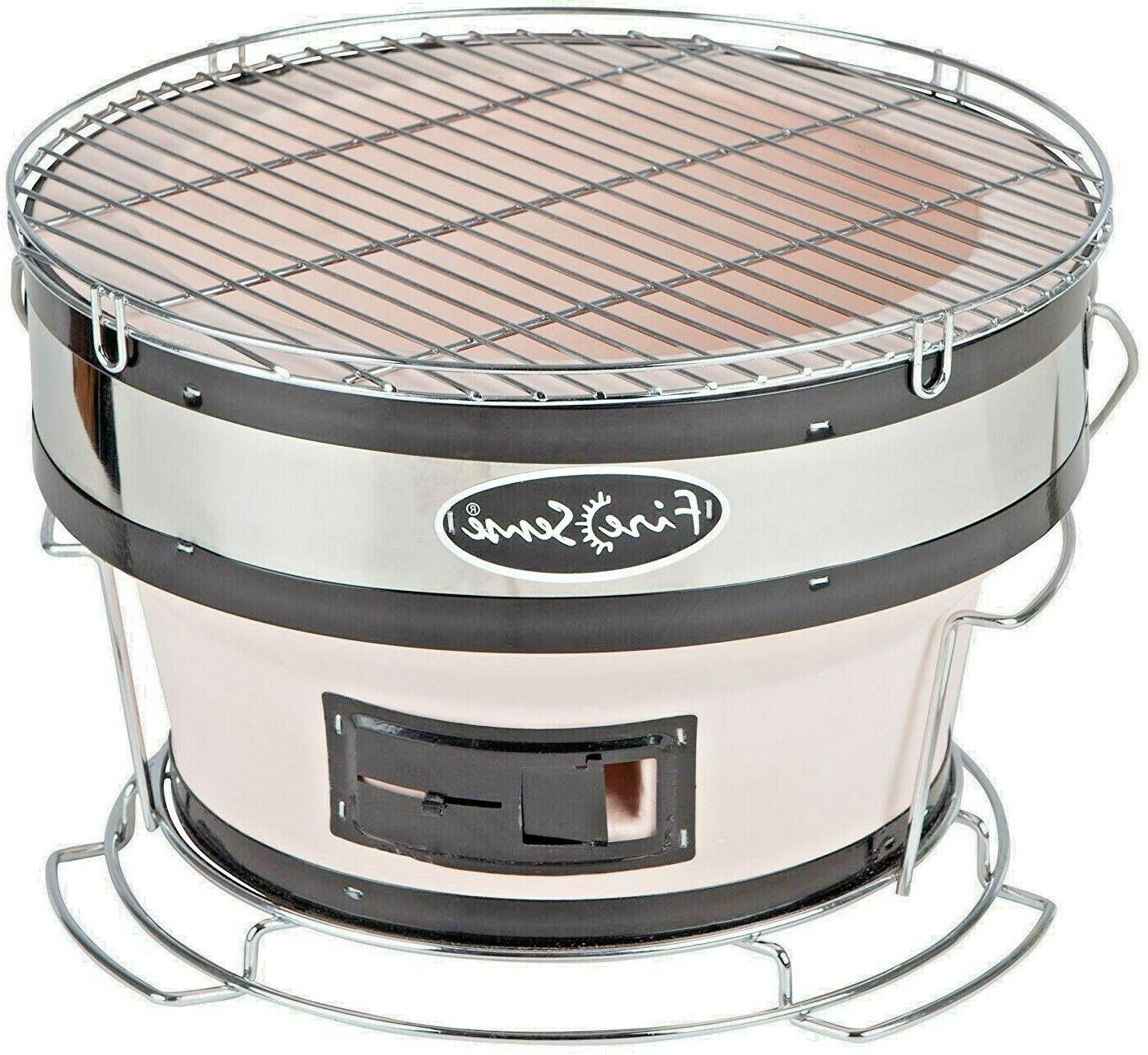 portable small yakatori charcoal bbq grill japanese