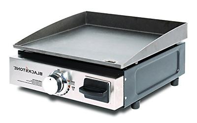 Portable Table Top Camp Griddle Gas Grill for Outdoors Campi