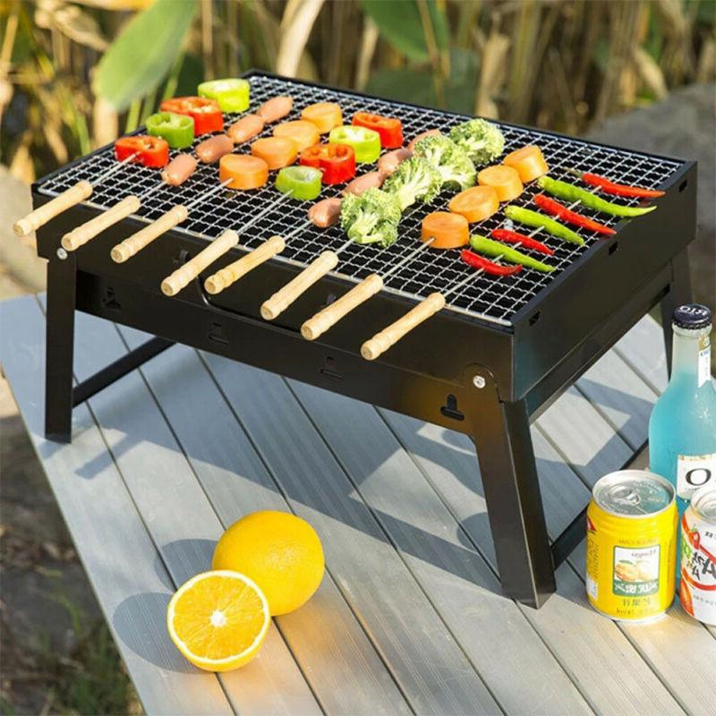 Portable Tabletop Grill BBQ Picnic Air