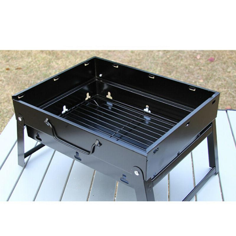 Portable BBQ Camping Picnic Cooker Air Vent Outdoor
