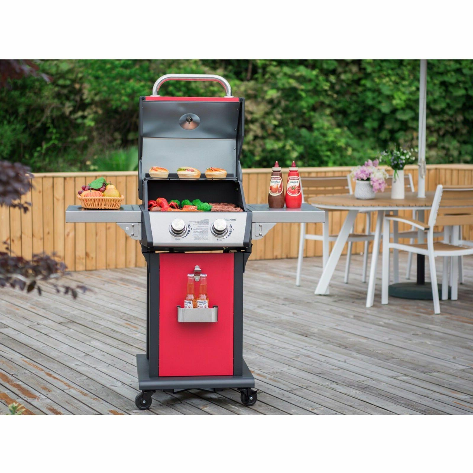 Royal Gourmet Propane Grill 2-Burner Patio Cooking
