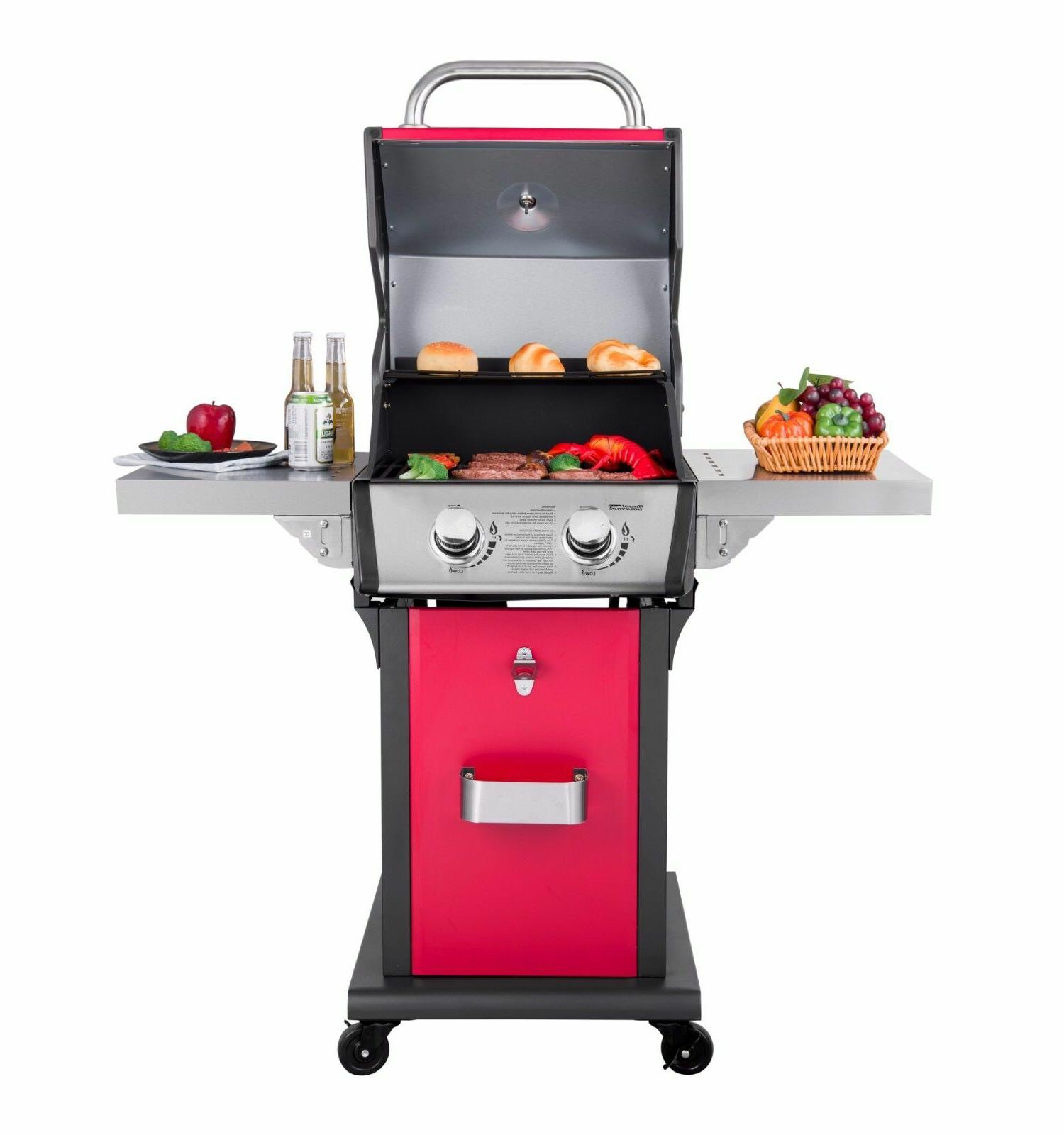 Royal Gourmet Propane Gas Grill, for Patio Cooking Family Ga
