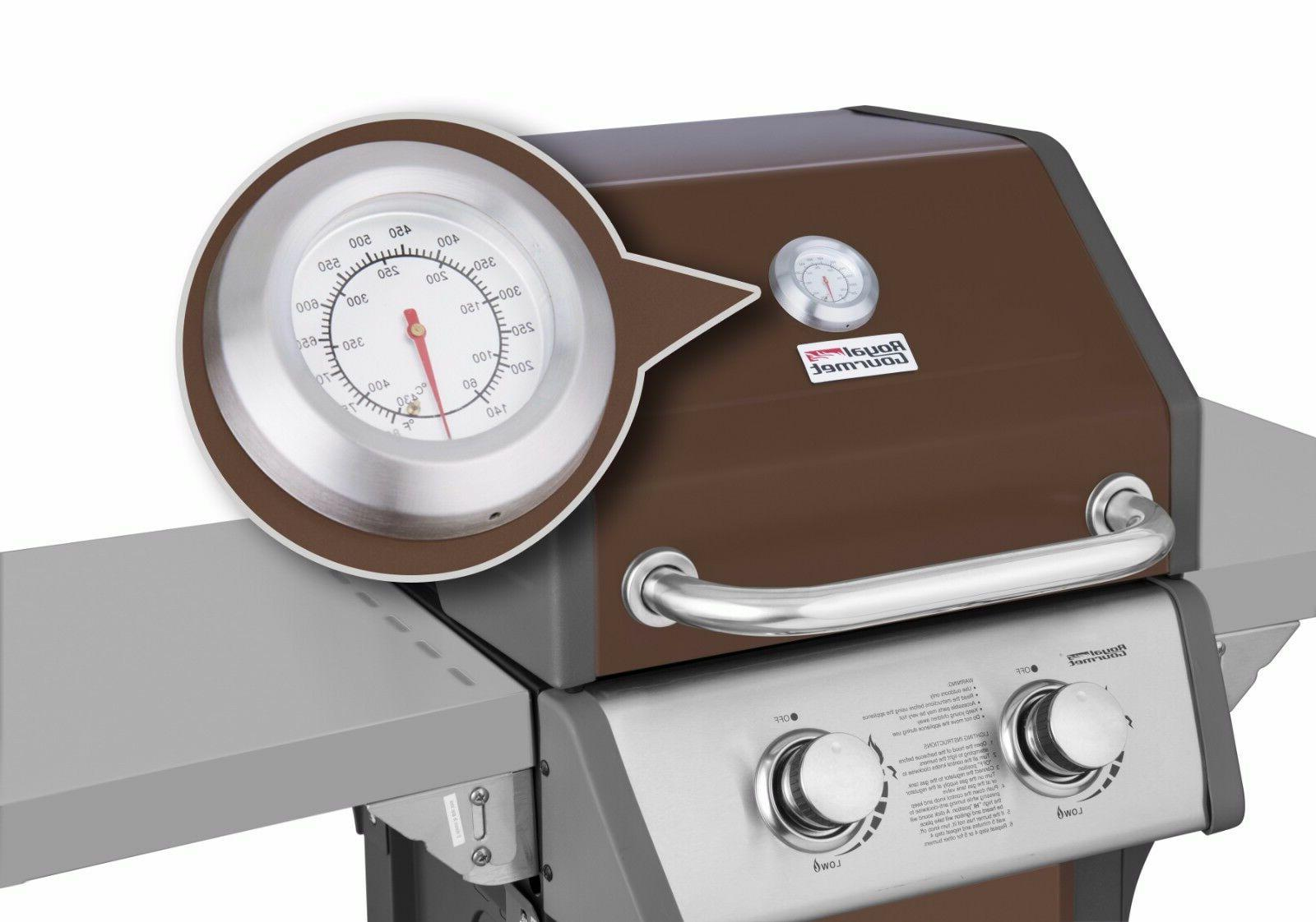 Royal Gas Grill 2-Burner Patio BBQ Cooking