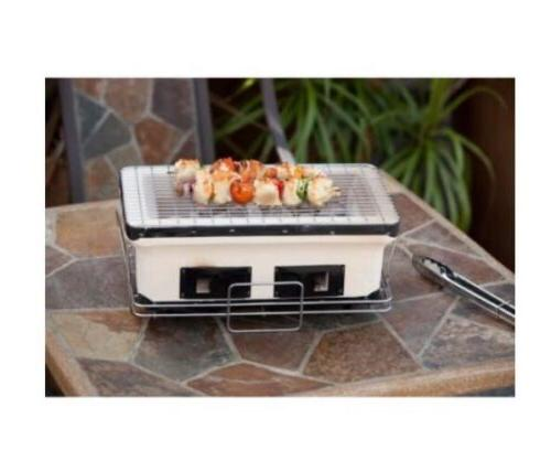 Fire Sense Rectangle Charcoal Grill