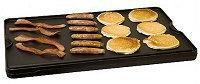 Camp Chef 's Reversible Pre-seasoned Cast Iron Grill & Gridd
