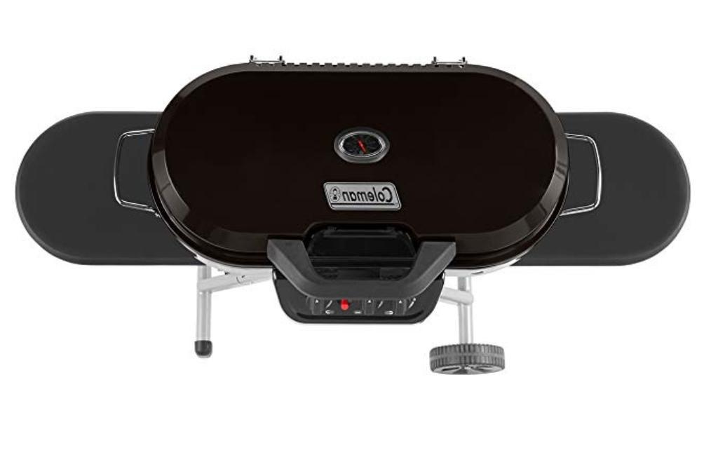 Coleman Stand-Up Grill, Black