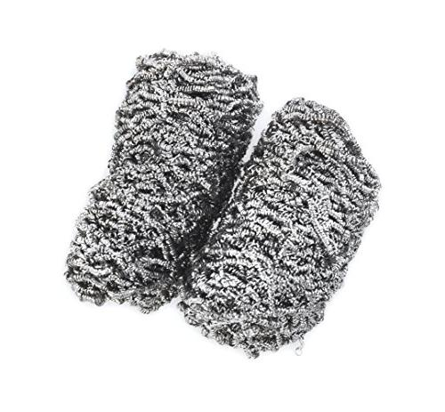 stainless grill ware scrubbers set