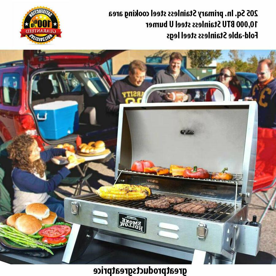 Smoke 1-Burner Liquid BBQ Gas Grill