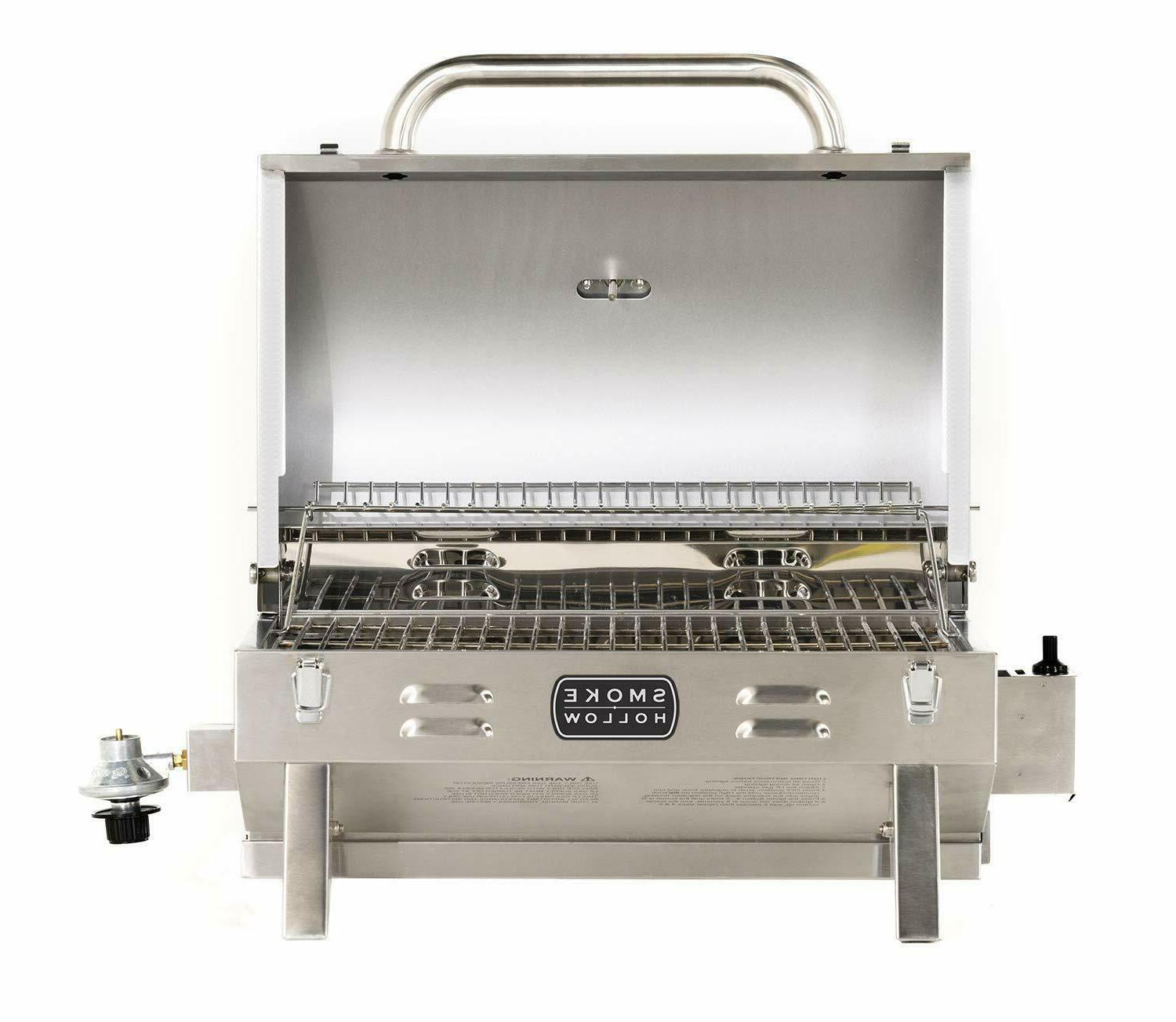 Smoke Hollow Stainless Steel 1-Burner BBQ Grill