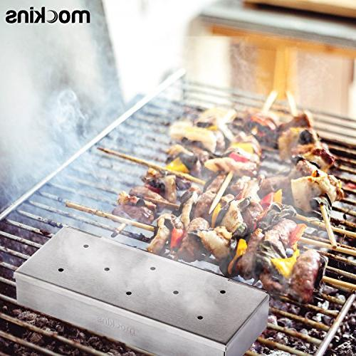 Mockins Steel Barbecue Wood Gas Or Charcoal Grills