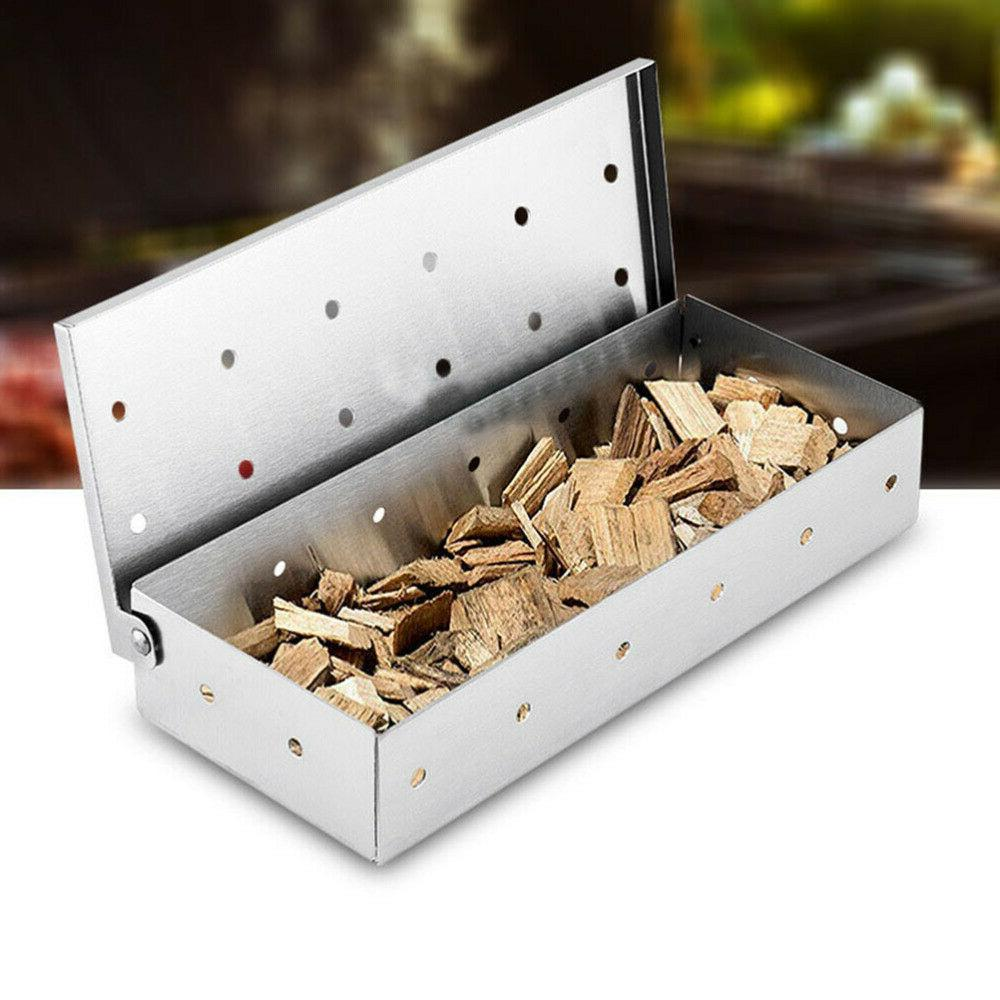Stainless Cold Generator BBQ Burn Box Meat