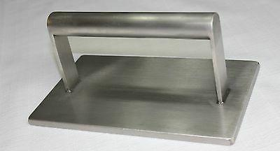 stainless steel steak grill press