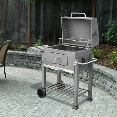 Barton Standing Outdoor Backyard Premium Barbecue Charcoal B