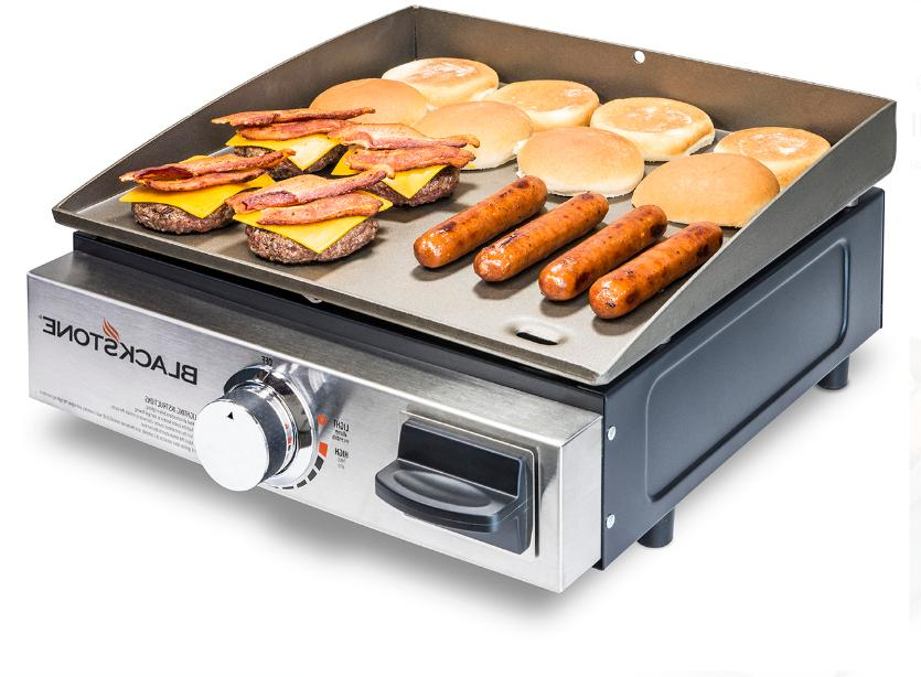 Table Top Hibachi Griddle Portable Flat Top Outdoor Cooking