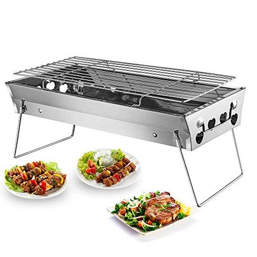 tabletop grill portable foldable lightweight