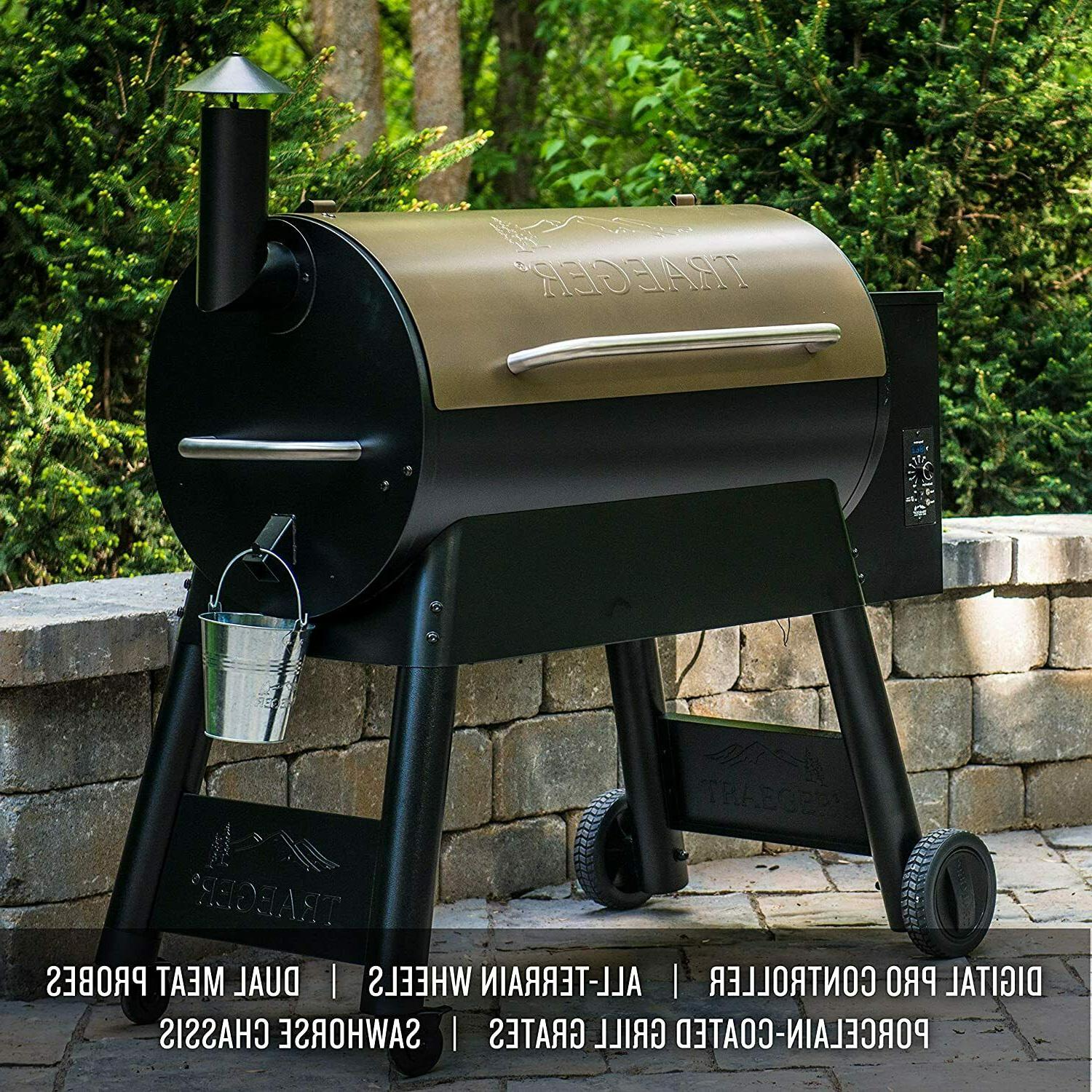 Traeger Grills Pro Series 34 Electric Wood Pellet Grill and