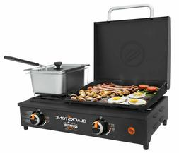 Large Portable Grill Tabletop Cooking StoveTop Burner Flat T
