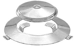 Magma Marine Grill Replacement Radiant Plate and Dome