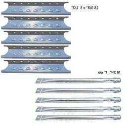 Master Forge 5 Burner Gas Grill L3218,3218LTN Stainless Stee