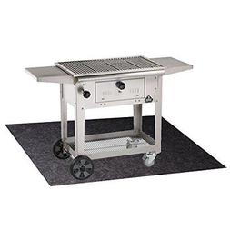 Mat Pad For Gas or Electric Grill Deck Floor Protection Spla
