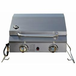 Members Mark Portable Stainless Steel 2-Burner Gas Grill TG2