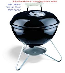 New Weber 10020 Smokey Joe 14-Inch Portable Grill