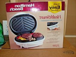 New Hamilton Beach 25219 HEALTHSMARTCONTACT INDOOR Grill