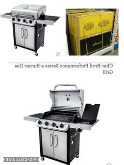 New Charbroil Performance Series 4 Burner Gas Grill 46337561