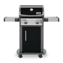 NEW LP Gas Grill Weber Spirit II E-210 2-Burner Black
