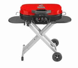 New Coleman RoadTrip 285 Portable Stand-Up Propane Grill Red