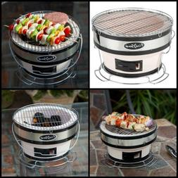 NEW Small Portable Yakatori Japanese Compact Charcoal BBQ Ro
