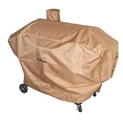 "Camp Chef Nylon 36"" Heavy Duty Pellet Grill Patio Cover, Tan"