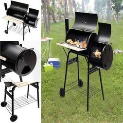 ON CLEARANCE BBQ Grill Charcoal Thermometer with Offset Smok