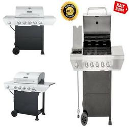 ON CLEARANCE Propane Gas Grill BBQ for Camping with Side Bur