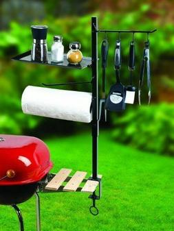 Outdoor BBQ Grill Tool Organizer Holder Patio Barbecue Cooki