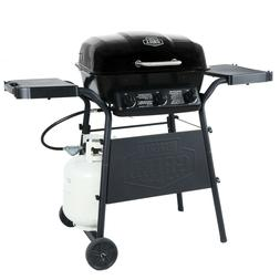 Outdoor Gas Grill Bbq 3 Burner Barbecue Propane Steel Cookin