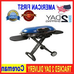 Outdoor Propane Grill with RoadTrip LXE Portable Gas Grill f