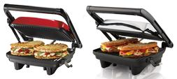 Hamilton Beach Panini Press Gourmet Sandwich Maker, 2 Colors