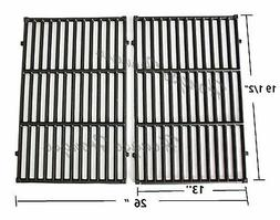 Hongso PCG524 7524 Cast-Iron Cooking Grates Replacement for