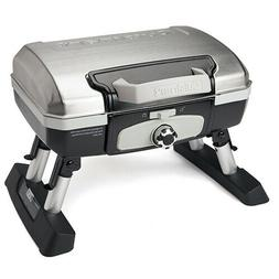 Cuisinart Petit Gourmet Portable Tabletop Gas Grill, Stainle