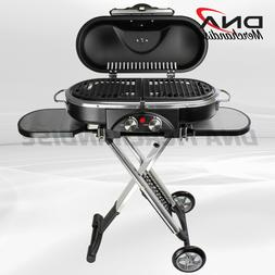 portable bbq grill propane matchless lighting foldable
