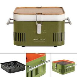 Portable Charcoal Grill Barbecue BBQ Tailgate Everdure Cube