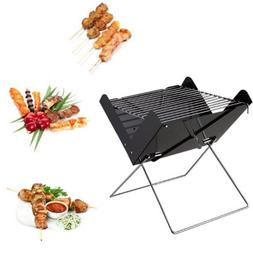 Portable Folding Barbecue Grill Support Stand for Outdoor Ca