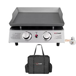 portable gas griddle