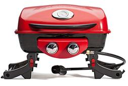 Portable Gas Grill Dual Blaze Two-Burner Camping Outdoor Coo